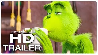 The Grinch Trailer #1 (NEW 2018) Benedict Cumberbatch Disney Animated Movie HD