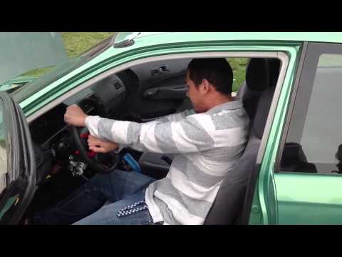 How to remove steering wheel lock without your key