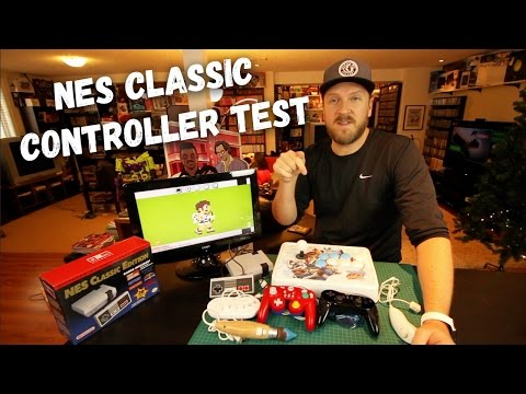NES Classic Edition - Controller Compatibility - Best Options?