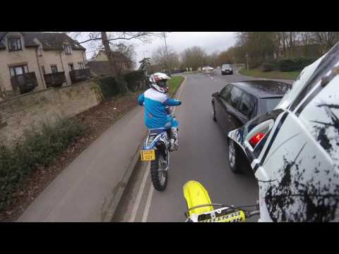Braaap !!!! uk road and wood ride rm125 and yz125