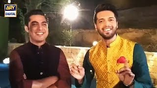 Watch your favorite celebrities at the shoot of The Most Awaited Title Track of Ramazan