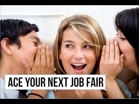 Inside Secrets to Ace Your Next Job Fair