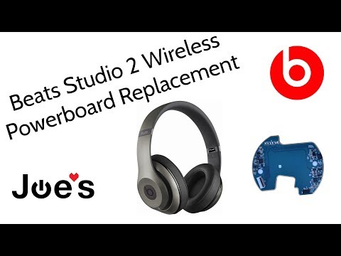 Beats By Dre Studio 2 Wireless Not Powering On PCB Power board Replacement