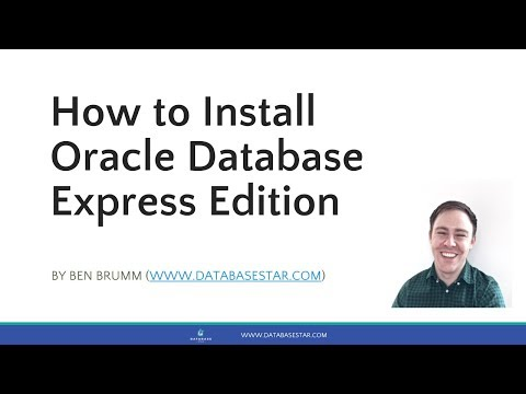 How to Install Oracle Express Edition 11g