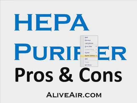 HEPA Air Purifier Pros and Cons