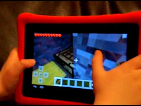 Josh's 1st Minecraft video at 5 years old !