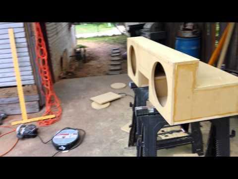 Custom El comino subwoofer box
