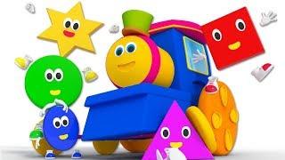 Nursery Rhymes & Songs for Kids   Cartoon Videos for Children - Bob The Train