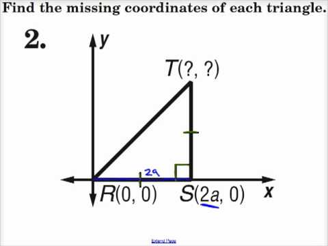 Find the missing coordinates