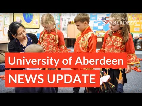 University of Aberdeen News Update - 1st June 2018
