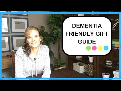 What are Dementia Friendly Gift ideas? Top 10 gift guide for someone with dementia