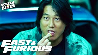 Every Time Han Eats Chips | Fast & Furious Series | SceneScreen