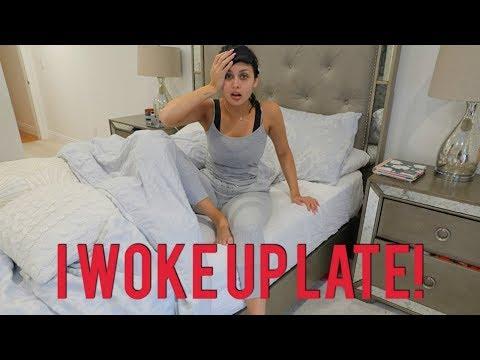 Woke Up Late Quick Makeup & Hair Tutorial