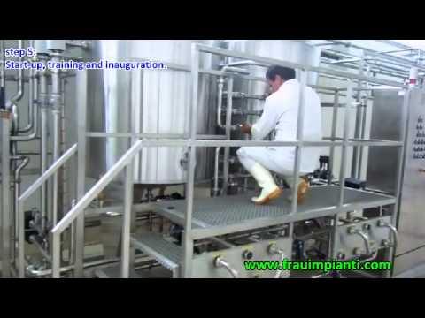 Milk, Yogurt, Leben, Raib, Butter: complete processing plant by Frau Impianti