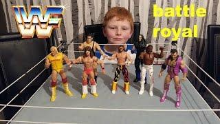 wwe toys mattel figures battle royal . 3