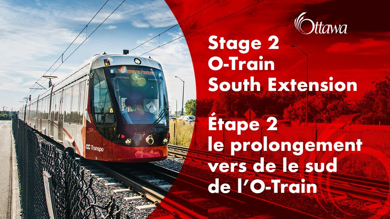 City to mark progress of Stage 2 O-Train South Extension