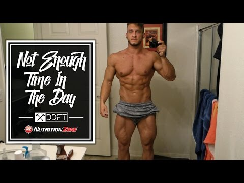 Not Enough Time In The Day | Meals | Store Inventory | Back Workout | Orders (06-01-16)