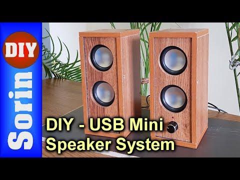 DIY - USB Mini Speaker System - PAM8403