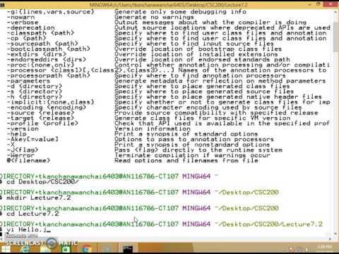 Create JavaDoc From Unix CommandLine
