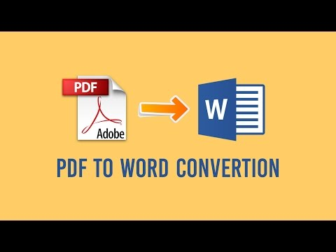 How To Convert pdf to word without software (online)