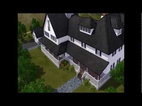 Sims3 Architecture - Victorian Mansion - VIPsims entry video.