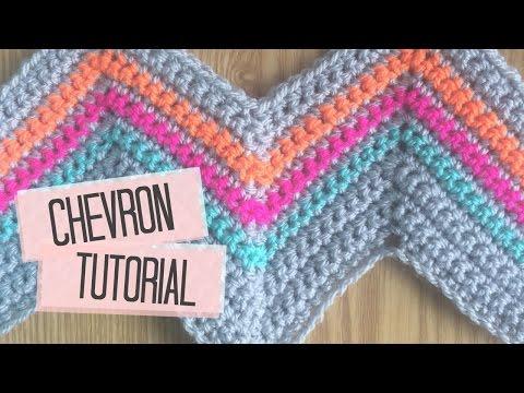 CROCHET: Chevron tutorial | Bella Coco