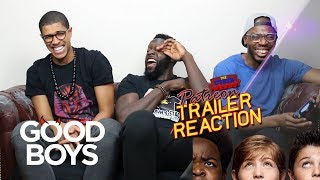 Good Boys Red Band Patreon Trailer Reaction