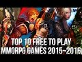 Top 10 Best Free To Play Mmorpg Games 20152016 Freemmostatio