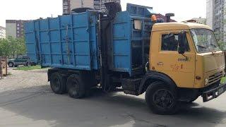 Russian Garbage Trucks/Российские мусоровозов