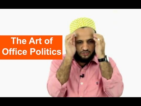 Workplace Politics and How to Do it...
