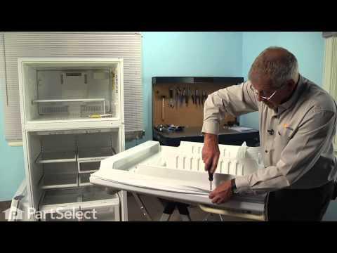 Refrigerator Repair - Replacing the Fresh Food Door Gasket (Whirlpool Part # 61004010)