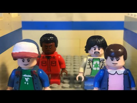 LEGO Stranger Things Preview