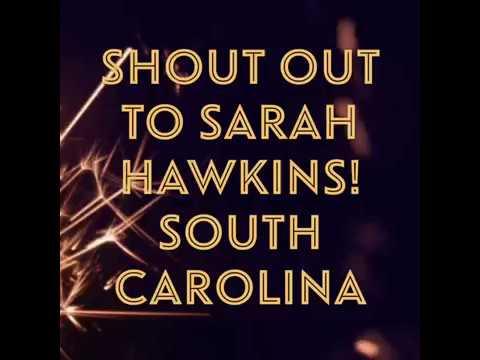 Teacher Shout-out! Sarah Hawkins, South Carolina