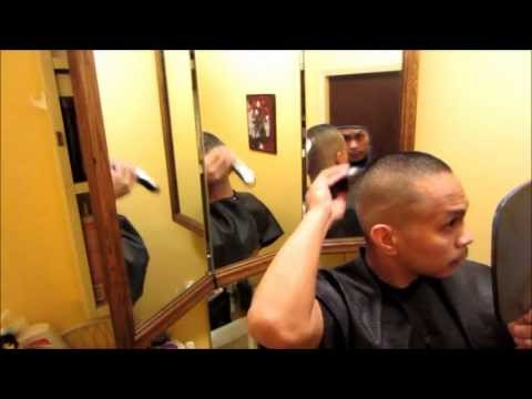 How to cut your own bald fade haircut