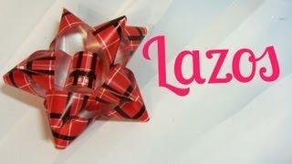 tutorial lazos o moos para regalo gift ties