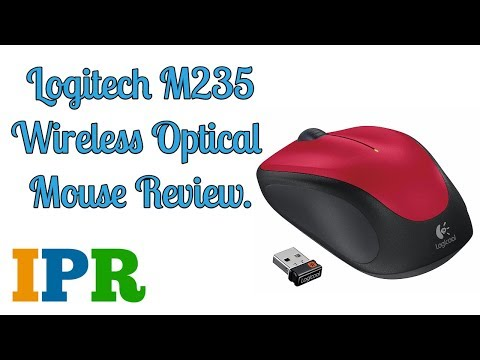 Invisible Optic Logitech M235 Budget Wireless Mouse | IPR