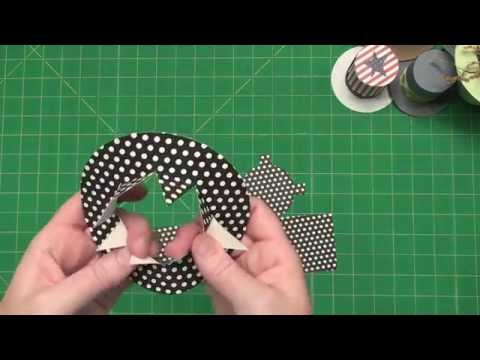 Create fabulous Small 3-D Top Hats
