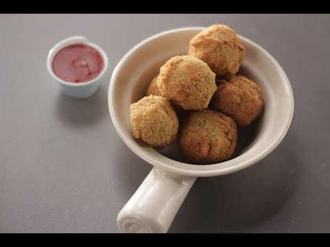 Zucchini Corn Crispy Balls | Sanjeev Kapoor Khazana
