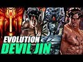 Evolution Of Devil Jin From Tekken 1997 2017