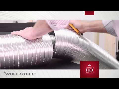 Freedom Flex Venting by Wolf Steel