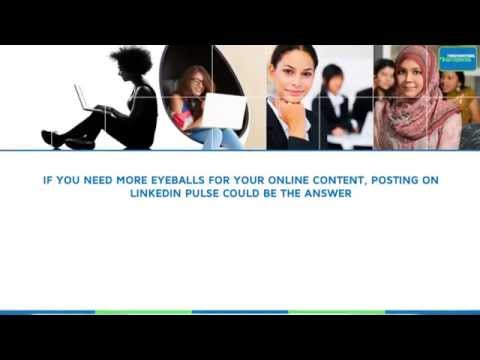How to post on LinkedIn Pulse video