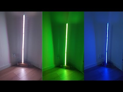 Genius DIY Modern LED Floor Lamp