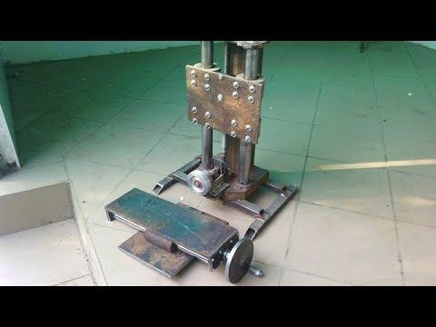 Homemade milling machine part 3