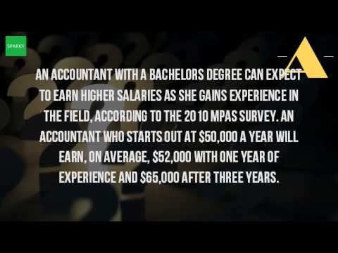 How Much Can You Make With A Bachelor Degree In Accounting?