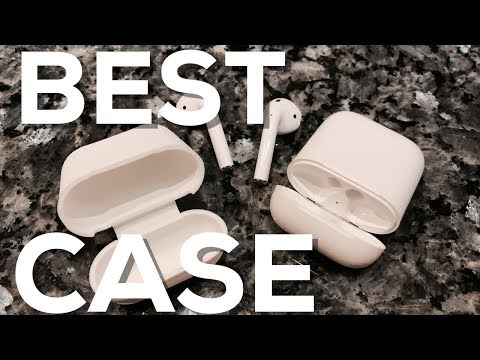 BEST CASE for Apple AirPods!! REVIEW (PodSkinz AirPods Case Protective Silicone Cover and Skin)