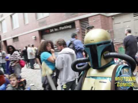 2013 New York Comic Con Ticket Sale Event at Midtown Comics Downtown