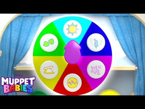 Color Wheel   Muppet Babies   Disney Junior