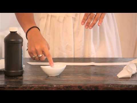 How to Clean a Wedding Sash : Bridal Wear
