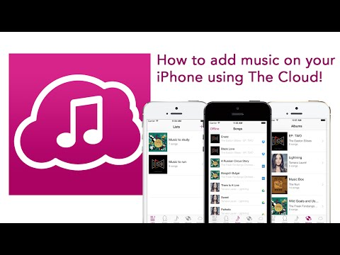How to add music to iPhone with Cloud Music using Dropbox Box or Google Drive