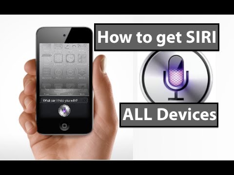 How to Get SIRI (on ALL DEVICES) [Updated! iOS 5.1 and 5.1.1]